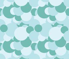 Dance All Day - Dots fabric by katrinazerilli on Spoonflower - custom fabric