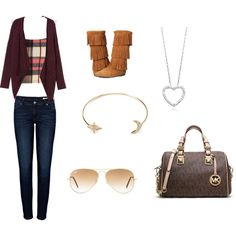 Untitled #21 by viihxoxo on Polyvore featuring polyvore fashion style Monki Boohoo Anine Bing Minnetonka MICHAEL Michael Kors Forever 21 Ray-Ban