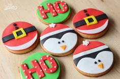 70 ideas for cupcakes decoration navidad natal Mini Christmas Cakes, Cute Christmas Cookies, Christmas Biscuits, Christmas Snacks, Holiday Cookies, Star Cookies, Cute Cookies, Royal Icing Cookies, Cookie Frosting