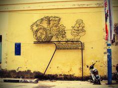 Penang Street Art (Pitt Street)