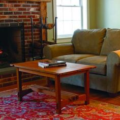 free PDF article and woodworking plan for Rodels coffee table