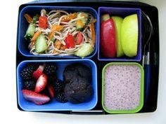 10 Vegan lunch ideas for kids. ◾Sesame Noodle Salad Shown