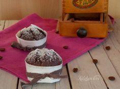Muffin al caffè, colazione vegana