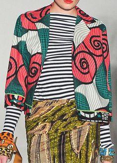 stella jean ~Latest African Fashion, African Prints, African fashion styles, African clothing, Nigerian style, Ghanaian fashion, African women dresses, African Bags, African shoes, Nigerian fashion, Ankara, Kitenge, Aso okè, Kenté, brocade. ~DK