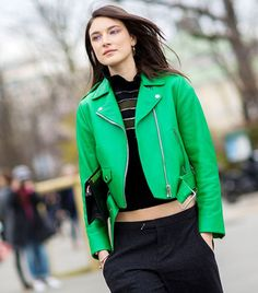 The Latest Street Style Photos From Paris Fashion Week via @WhoWhatWear
