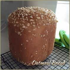 Singapore Home Cooks: Oatmeal Bread (Breadmaker) by Goh NgaiLeng