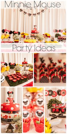 So many cute party ideas and desserts at this Minnie Mouse girl birthday party! See more party ideas at CatchMyParty.com.