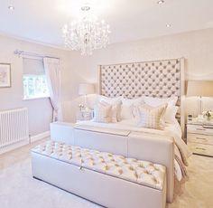 Glam bedroom ideas glamour silver bedroom designs home decor bedroom bedroom decor and master bedroom decorating Glam Bedroom, Home Bedroom, Bedroom Furniture, Bedroom Ideas, Chanel Bedroom, Bedroom Designs, Bedroom Colors, Bedroom Inspiration, Fancy Bedroom