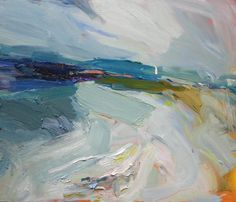 Richard Claremont #Art and #Inspiration - Mystics Beach - #Seascapes #Oil #Paintings for Sale
