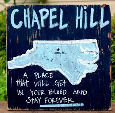 Chapel Hill, NC Pin Your College Town! by Simply Southern Signs available on… Thats The Way, That Way, Jack Daniels, Southern Signs, Simply Southern, Southern Comfort, Southern Charm, Carolina Blue, Carolina Girls