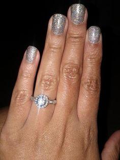 I like her fingernail polish!