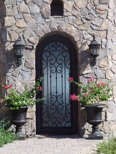Iron Entry Doors - Front Doors - Phoenix - Rustic Decor Store