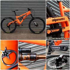 2016 Orange Alpine 160 RS + upgrades | Fox Racing Shox | RockShox | Hope Tech | Race Face | Available at Wheelies.co.uk