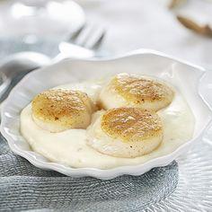 noix de saint jacques rties sauce chablis carrefour traiteur nol - Carrefour Traiteur Mariage