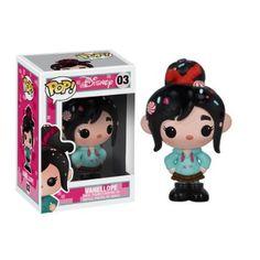 Disney POP! Ralph reicht's VANELLOPE 10cm Vinyl ´Deformed´ Figur