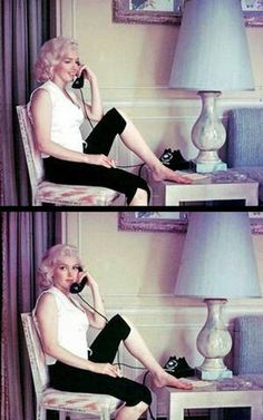 Marilyn at the home of Joseph Schneck. Photos by Milton Greene, 1953.