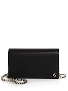a327410e8dec0 Gucci - Leather Chain Wallet Gucci Wallet On Chain, Leather Chain, Discount  Designer,