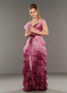 that film... dress - Emma Watson - Harry Potter e o Cálice de Fogo Sempre quis…