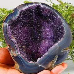 #Amethyst #Geode with Gorgeous Blue #Agate!  Origin: #Uruguay  Visit our store for fine #Minerals! :) #stone #gorgeous #rockhound #rock #amazing #colorful #colors #geology #geologist #gemstone #gemporn #Crystals #Crystallover #Crystalporn #Specimen #nature #mothernature #gemlover #Amethystlover #energy #chakra #healing #healingstone #Crystalhealing #yoga #energy