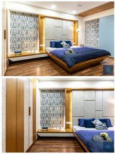 Bedroom Wall Designs, Bedroom Bed Design, Bedroom Furniture Design, Bed Furniture, Bedroom Decor, Bedroom Ideas, Master Bedroom Interior, Modern Bedroom, Bedroom Small