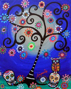 day of the dead tree of life -- want this