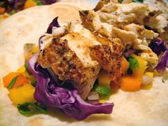 Delicious Dishings: Fish Tacos