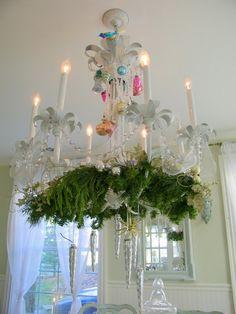 lustres decoração natalinas - Pesquisa Google