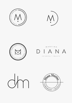 Find tips and tricks, amazing ideas for Minimal logo. Discover and try out new things about Minimal logo site Logo Branding, Business Branding, Business Design, Branding Design, Font Logo Design, Brand Identity, Business Fonts, Circle Logo Design, Circle Logos