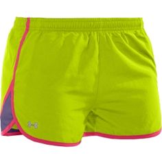 "Its a constant battle. Nike? Under Amour? Am I allowed to love both?! Under Armour Women's HeatGear Escape 3"" Varsity Running Short - Dick's Sporting Goods"