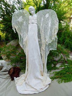 Mój magiczny Świat : biały anioł powertex