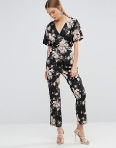 d2e8653c01f Uttam Boutique Floral Jumpsuit at asos.com