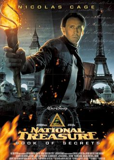 'National Treasure' - great way to sort of learn about history...ha ha