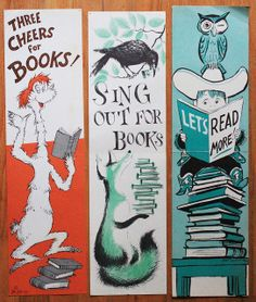 Book week posters by noahmodern, via Flickr
