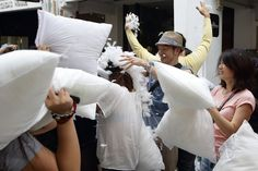 Pin for Later: World Pillow Fight Day Is a Bigger Deal Than You Thought Singapore