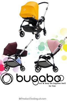 Product Testing UK are looking for reviewers to test and keep the new Bugaboo Bee 5 for free! How can you say no to that? Register today for your chance to be selected.