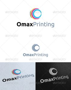 Buy Wing Printing Logo Template by on GraphicRiver. paint and printing Logo Template. Re sizable Vector EPS and Ai Color customizable Fully editable Free font used: http. Circle Logo Design, Vector Logo Design, Circle Logos, Abstract Logo, Geometric Logo, Elegance Fashion, Wings Logo, Logo Color, Typography Logo