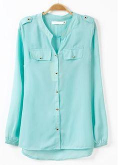 Comfy Mint Shirt