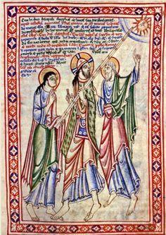 12th Century Illumination on Pinterest | 12th Century, Illuminated ...