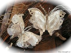 Paper & Lace Butterflies