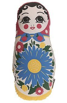"""A nesting doll. Nesting dolls are a tradition from Russia. """"A matryoshka doll, also known as Russian nesting/nested doll, refers to a set of wooden dolls of decreasing size placed one inside the other. They are sometimes incorrectly referred to as """"babushka dolls"""" (grandmother doll). The first Russian nested doll set was carved in 1890."""""""