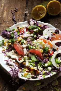 Red cabbage salad like Katie Quinn Davis