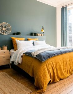 Modern Bedroom Ideas - Looking for the very best bedroom decoration ideas? Utilize these lovely modern bedroom ideas as inspiration for your own wonderful designing plan . Contemporary Bedroom, Modern Bedroom, Bedroom Paint Colors, Warm Bedroom Colors, Tranquil Bedroom, Bedroom Green, Home Decor Bedroom, Bedroom Ideas, Design Bedroom