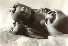 Three engine airplane