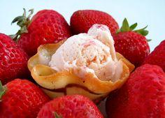 Homemade Strawberry Ice Cream | Bakers Royale