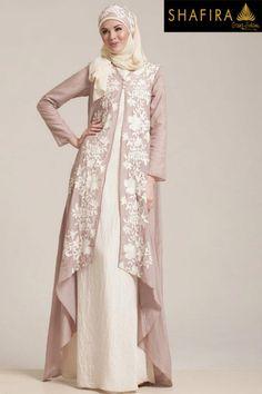 New dress brokat panjang 35 Ideas Abaya Fashion, Modest Fashion, Fashion Dresses, Fashion Muslimah, Maxi Dresses, Muslim Dress, Hijab Dress, Dress Muslimah, Kebaya Muslim