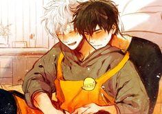 Anime Yaoi Fanart - Lưu Trữ - Gintama: Hijikata x Cute Anime Guys, Anime Love, Anime Faces Expressions, Cute Gay Couples, Fanart, Wattpad, Anime Couples Manga, Drawing Reference Poses, Shounen Ai