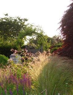Claudia de Yong Designs are passionate about designing inspiring romantic gardens and garden features. Country Landscaping, Backyard Landscaping, Australian Native Garden, Garden Of Earthly Delights, Coastal Gardens, Beautiful Home Designs, Garden Landscape Design, Garden Features, Gardens