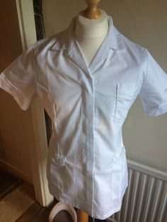 78a589f394d Womans Nurses Tunic Healthcare Medical NHS Uniform Alexandra H152W Size 8  for sale online   eBay