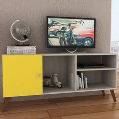 Quer dar um toque a mais na sala de estar? Invista em um rack maravilhoso!