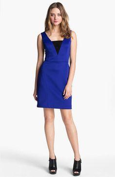 Betsey Johnson Cross Back Sheath Dress available at Nordstrom
